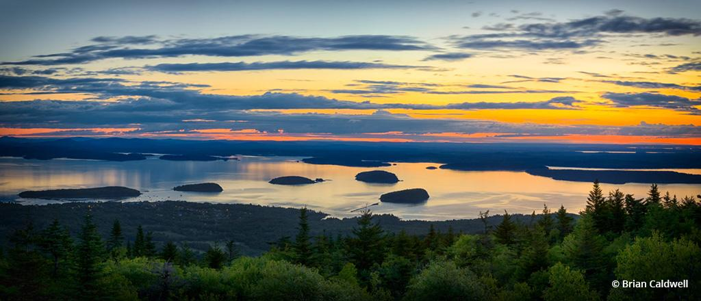 """Today's Photo Of The Day is """"Waiting for Sunrise"""" by Brian Caldwell. Location: Cadillac Mountain, Acadia National Park, Maine."""