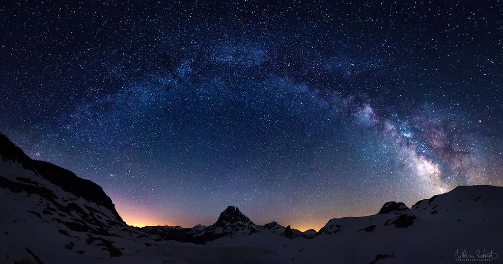"Today's Photo Of The Day is ""Starry Night"" by Matthieu Roubinet. Location: National Park of Pyrénées, France."