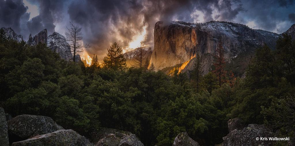 "Today's Photo Of The Day is ""Awakening"" by Kris Walkowski. Location: Yosemite National Park, CA."