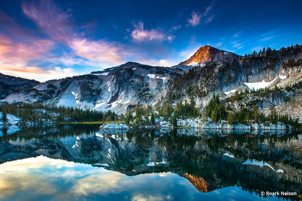 "Today's Photo Of The Day is ""Mirror Lake at Dawn"" by Roark Nelson. Location: Eagle Cap Wilderness, Oregon."