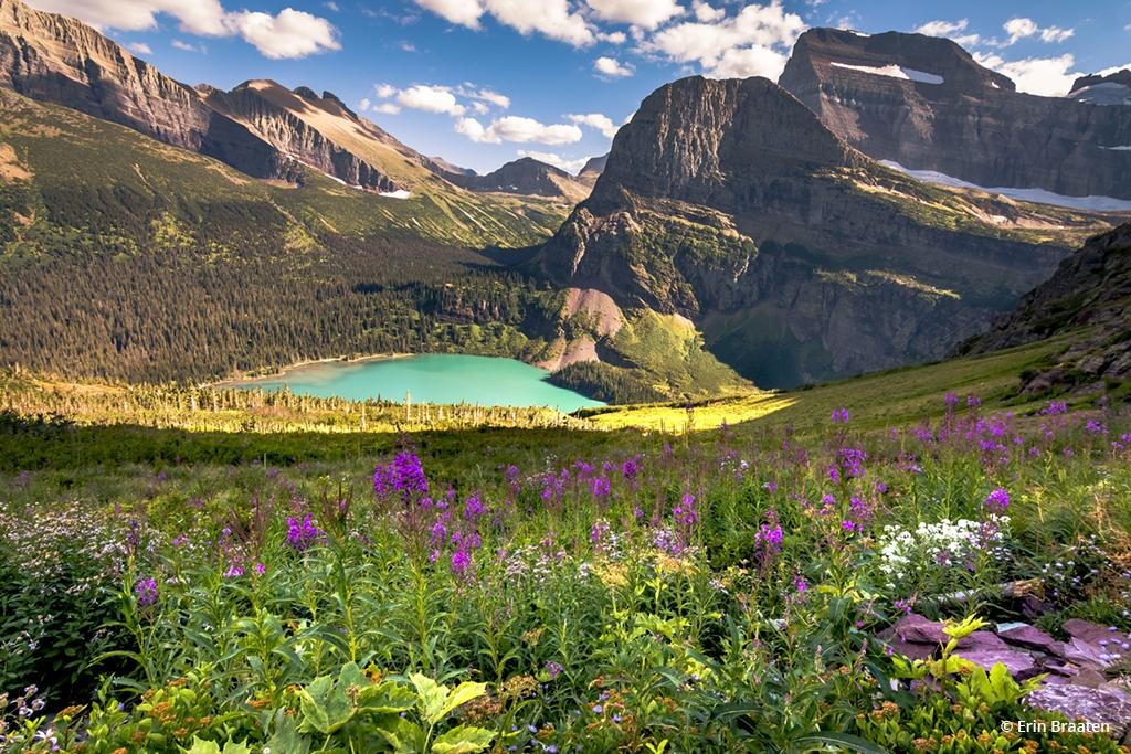 """Today's Photo Of The Day is """"Along Grinnell Glacier Trail"""" by Erin Braaten. Location: Glacier National Park, Montana."""