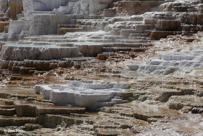 Mammoth Hot Springs taken with the Canon EOS 6D Mark II