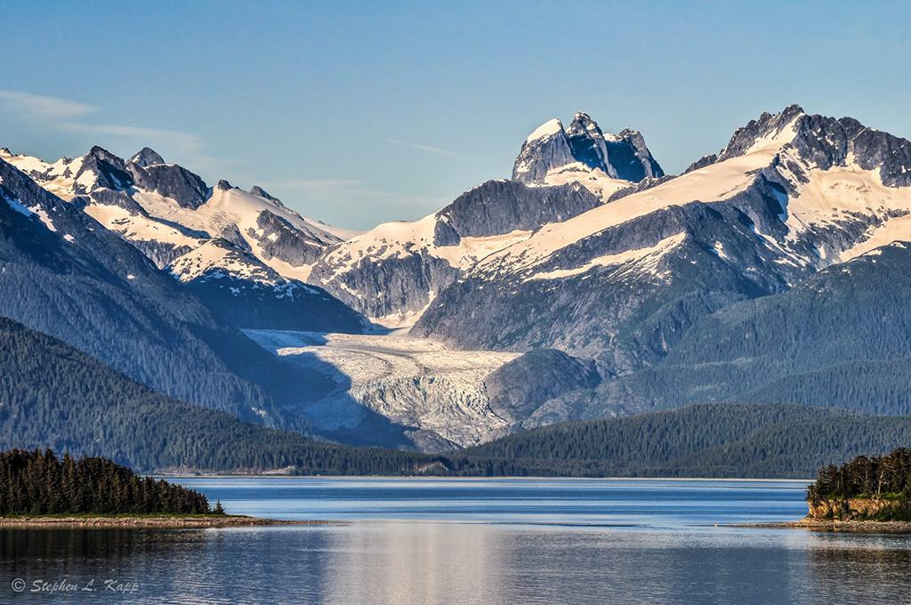 """Today's Photo Of The Day is """"Alaskan Glacier & Inlet"""" by Stephen Kapp. Location: Alaska."""
