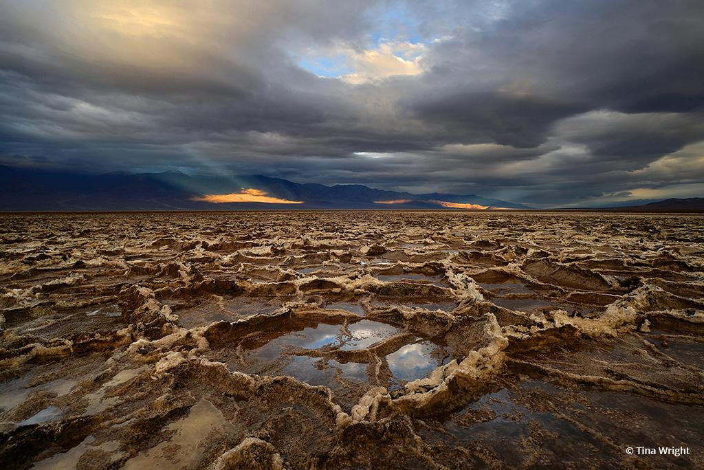 """Today's Photo Of The Day is """"Alien World"""" by Tina Wright. Location: Death Valley National Park."""