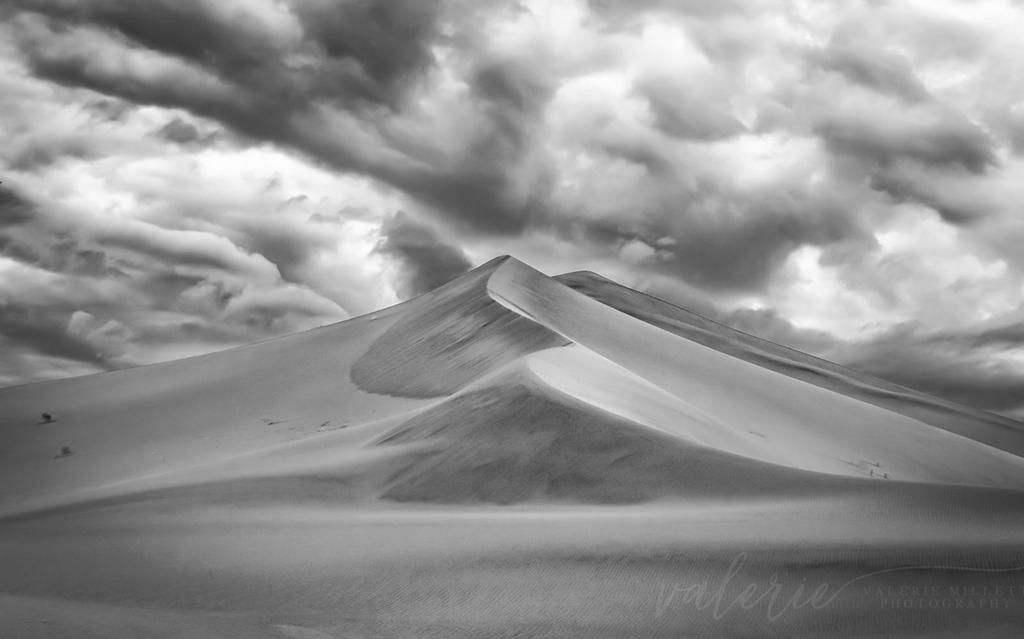 "Today's Photo Of The Day is ""Dunes"" by Valerie Millett. Location: Ibex Dunes in Death Valley National Park."