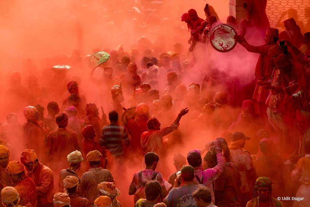 "Congratulations to Udit Dugar for winning the recent Fine Art Travel Assignment with the image, ""Colors of Holi."""