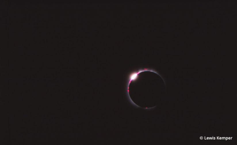 """Diamond Ring"" effect, solar eclipse, Baja California, 1991"