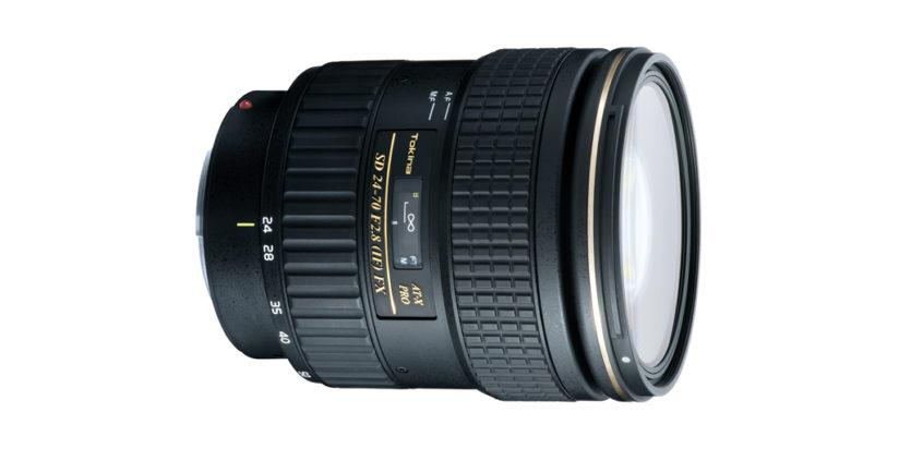 Zoom lenses for travel photography, Tokina AT-X AF 24-70MM F/2.8 PRO FX