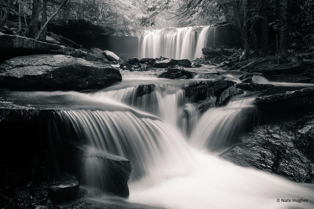 "Today's Photo Of The Day is ""Oneida Falls"" by Nate Hughes. Location: Ricketts Glen State Park, Pennsylvania."