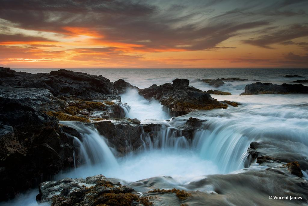 """Today's Photo Of The Day is """"Sunset Aloha"""" by Vincent James. Location: Kona, Hawaii."""