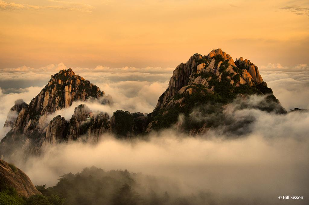 "Today's Photo Of The Day is ""Huangshan Magic"" by Bill Sisson. Location: Huangshan Mountains, China."