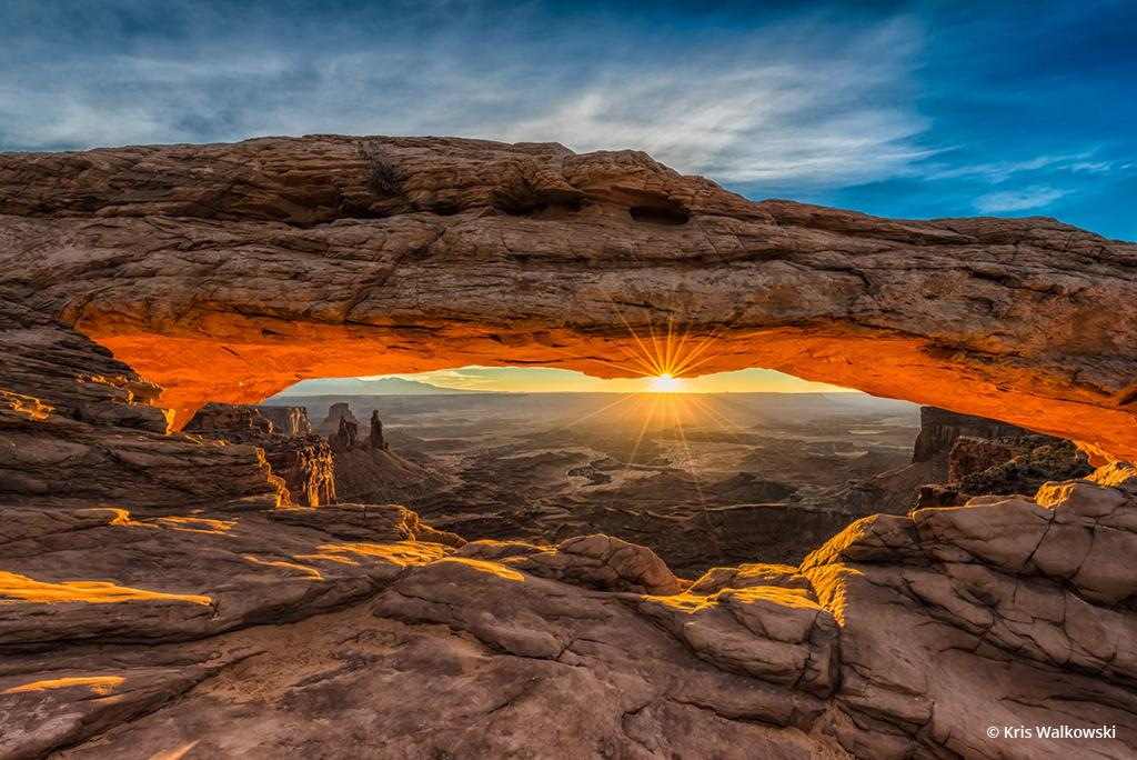 """Today's Photo Of The Day is """"Mesa Arch"""" by Kris Walkowski. Location: Canyonlands National Park, Utah."""
