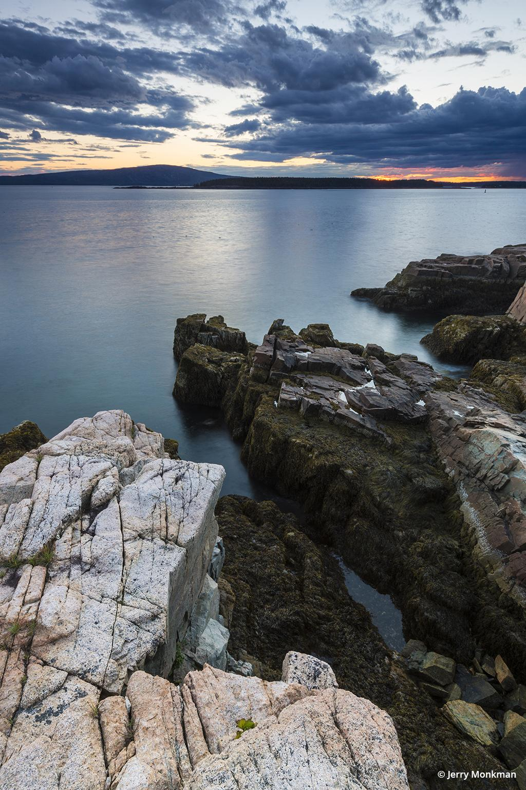 Schoodic Peninsula in Maine's Acadia National Park