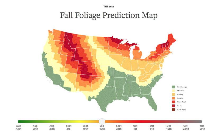 fall color map