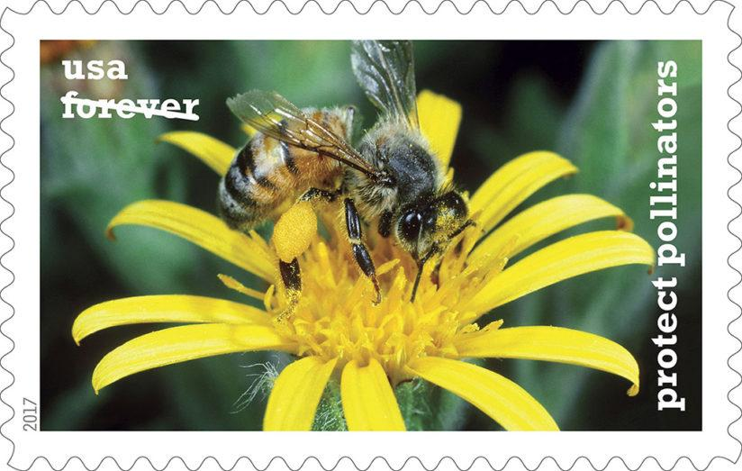 protect pollinators stamps