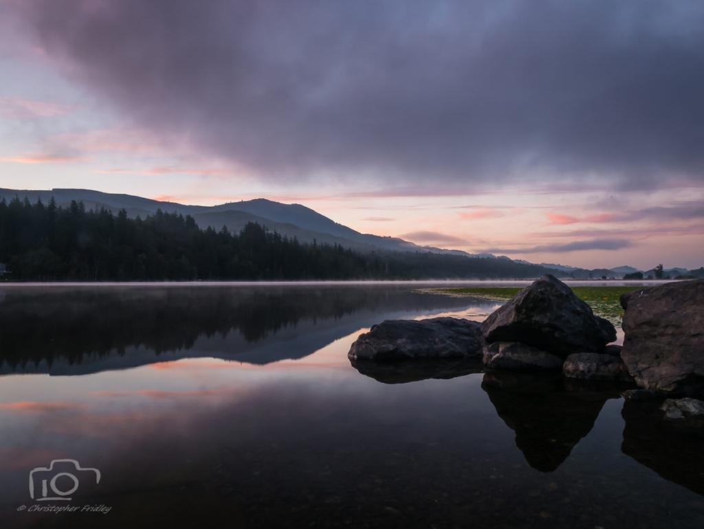 "Today's Photo Of The Day is ""Clear Lake, Washington"" by Christopher Fridley."