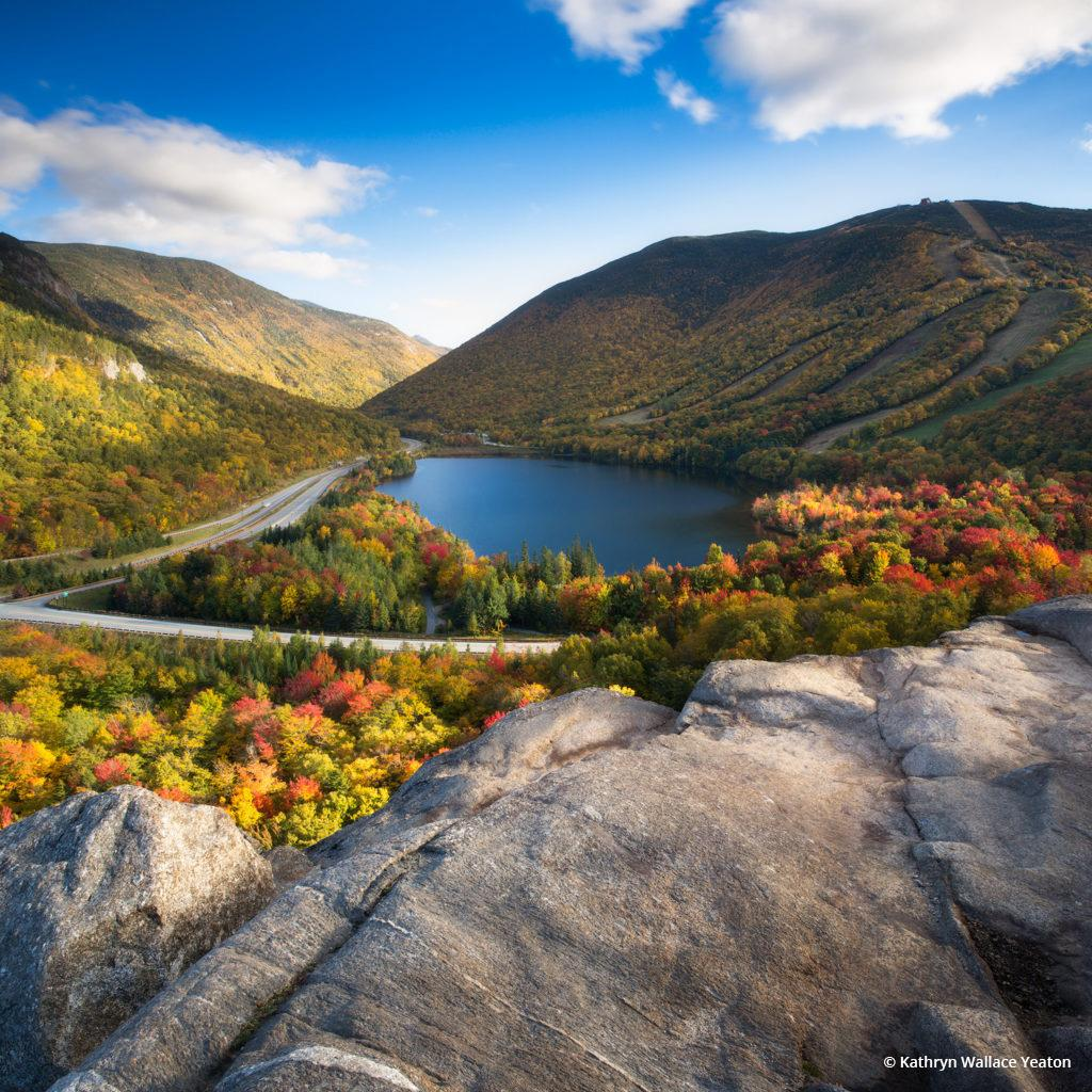 "Today's Photo Of The Day is ""If Only"" by Kathryn Wallace Yeaton. Location: Artist Bluff, Franconia Notch State Park, New Hampshire."
