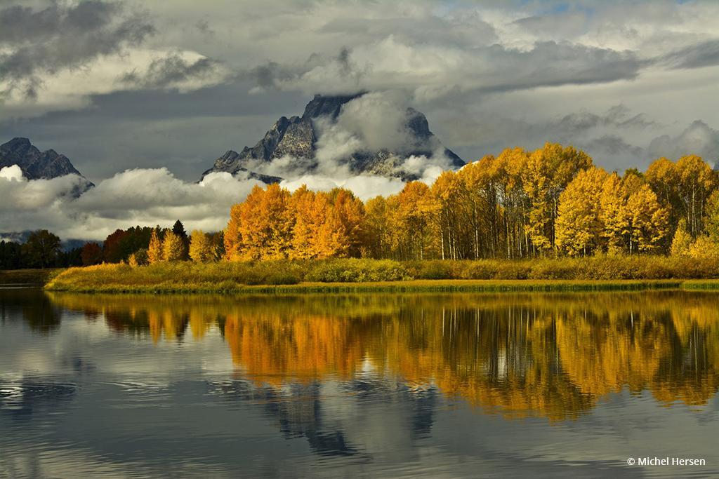 """Today's Photo Of The Day is """"Afternoon at the Oxbow"""" by Michel Hersen. Location: Grand Teton National Park, Wyoming."""