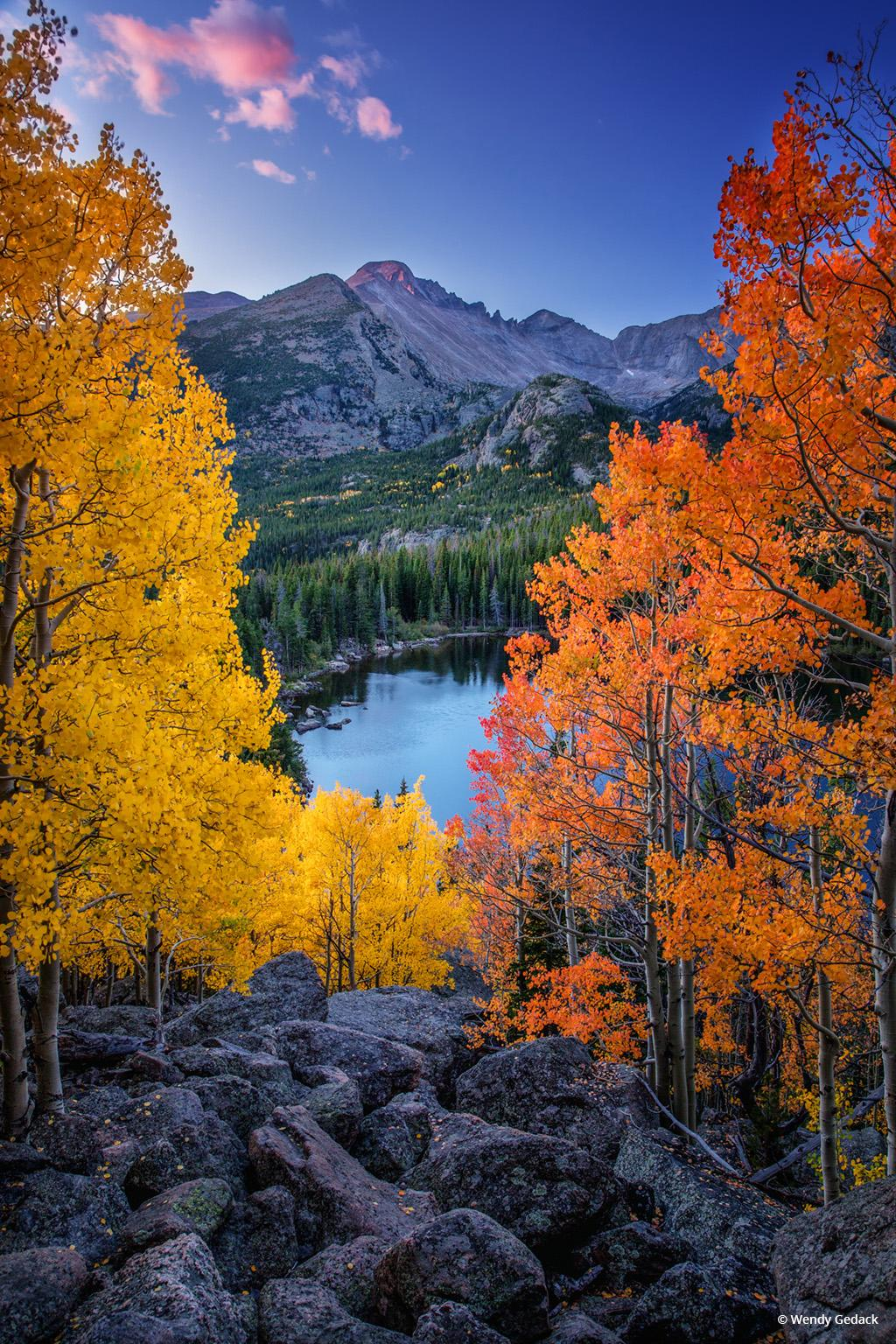 """Today's Photo Of The Day is """"Absorb Every Moment of Wonder"""" by Wendy Gedack. Location: Rocky Mountain National Park, Colorado."""