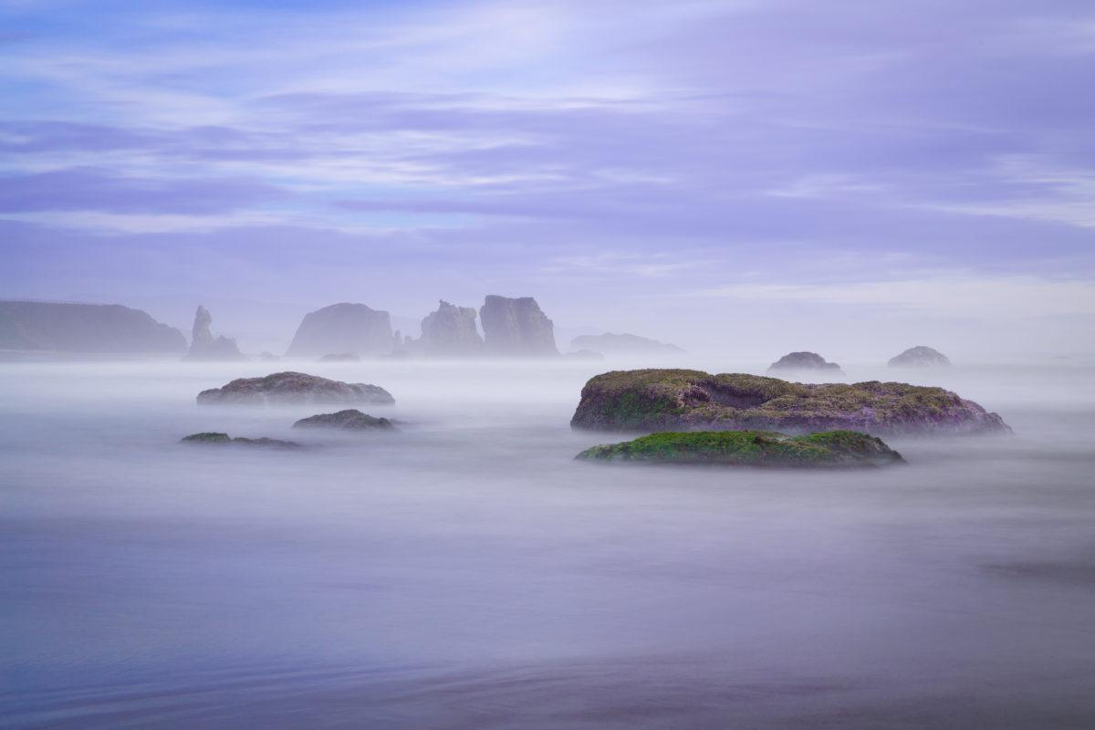 "Today's Photo Of The Day is ""Soothing Ocean"" by Beth Young. Location: Bandon, Oregon."