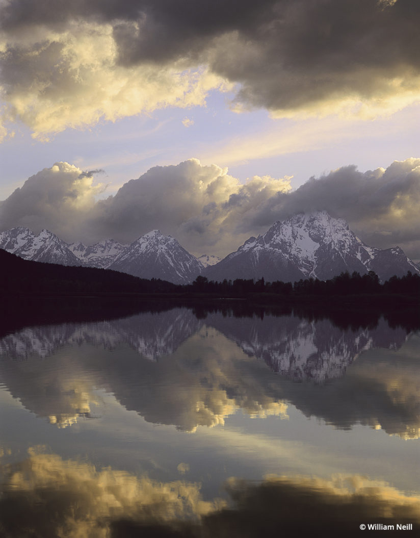 William Neill reflections, Snake River.