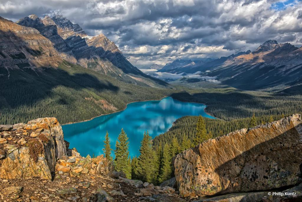 """Today's Photo Of The Day is """"Jewel of the Rockies"""" by Philip Kuntz. Location: Banff National Park, Alberta, Canada."""