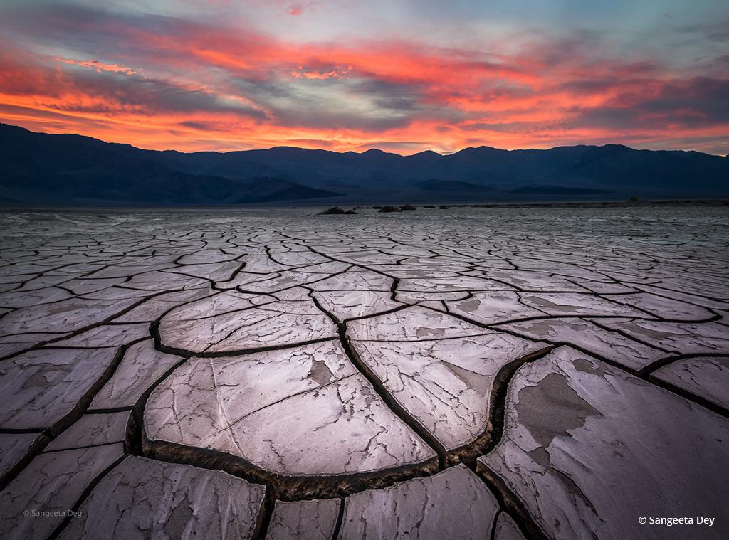 """Today's Photo Of The Day is """"Fragments of Time"""" is Sangeeta Dey. Location: Death Valley National Park, CA."""
