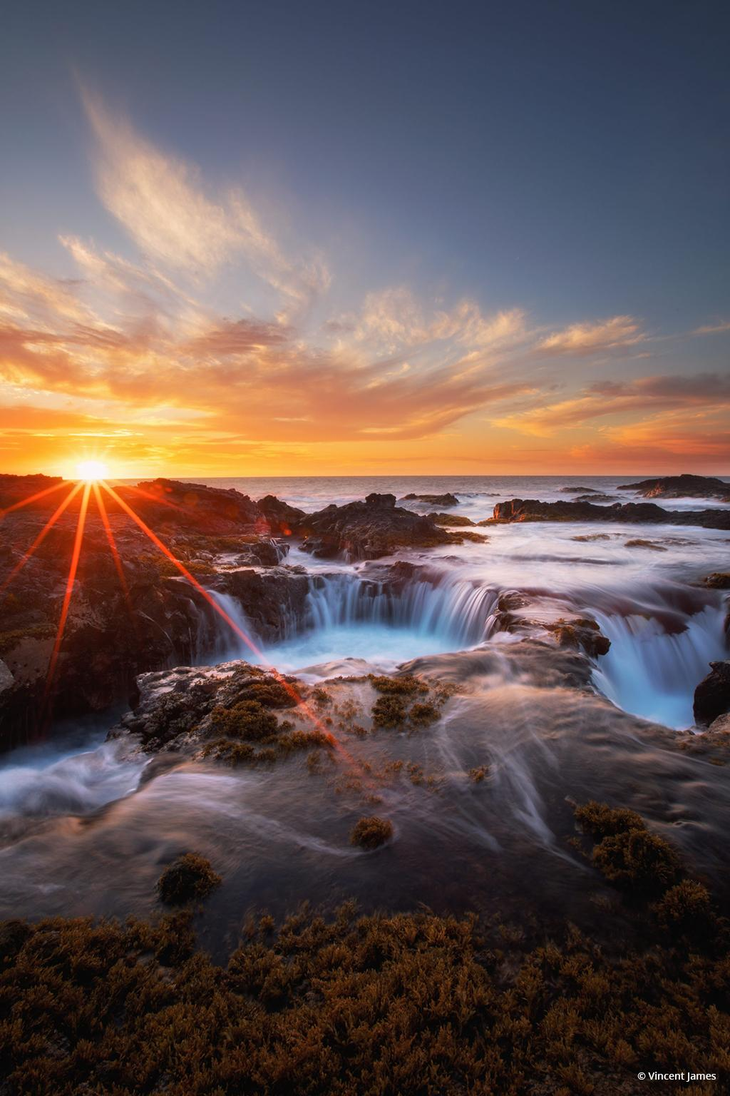 "Today's Photo Of The Day is ""Big Island Magic"" by Vincent James. Location: Kona, Hawaii."