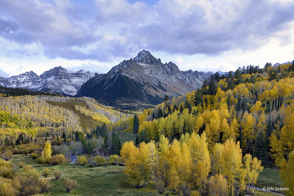 """Today's Photo Of The Day is """"Mount Sneffels"""" by Eric Grimm. Location: Near Ridgway Colorado."""