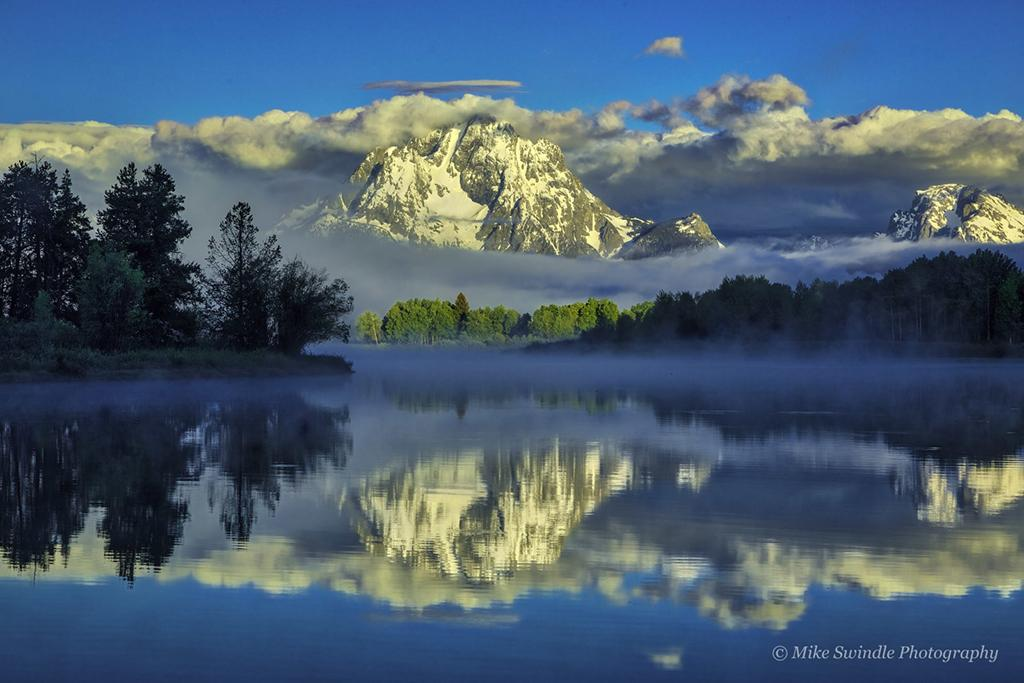 """Today's Photo Of The Day is """"Mountain Reflections"""" by Michael Swindle. Location: Grand Teton National Park, Wyoming."""