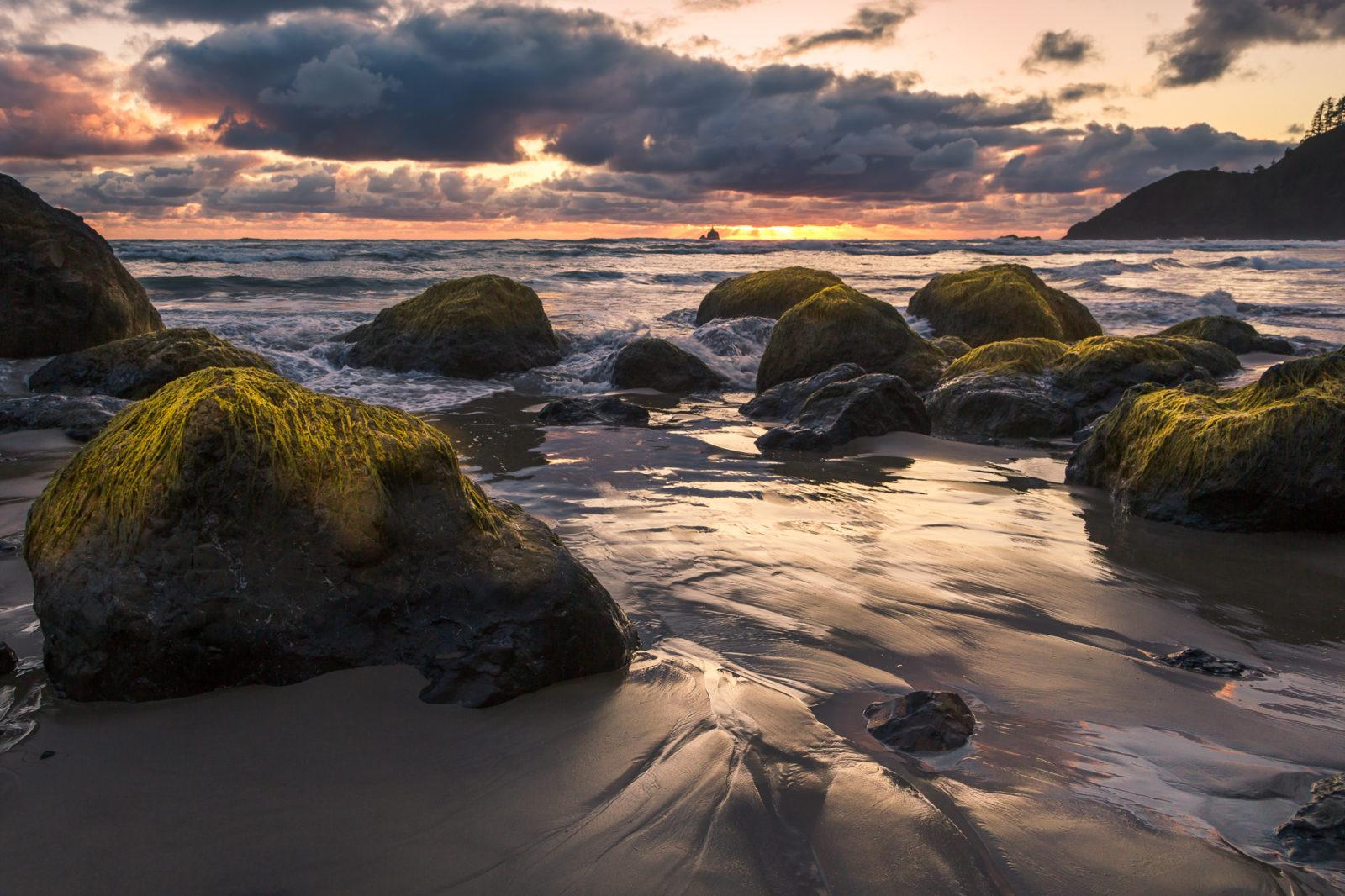 "Today's Photo Of The Day is ""Ecola State Beach"" by Nadeen Flynn. Location: Ecola State Beach, Oregon."
