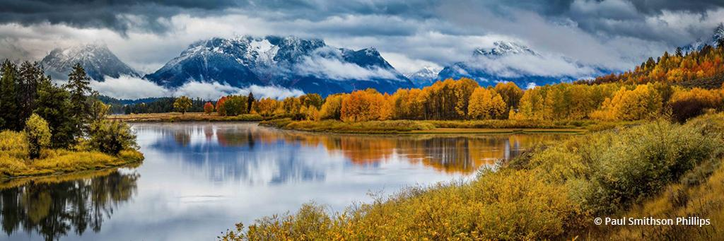 "Today's Photo Of The Day is ""The Bend"" by Paul Smithson Phillips. Location: Grand Teton National Park, Wyoming."