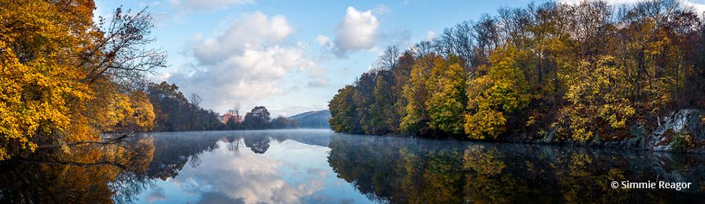 """Today's Photo Of The Day is """"Still Waters Run Deep"""" by Simmie Reagor. Location: Housatonic River, New Milford, Connecticut."""