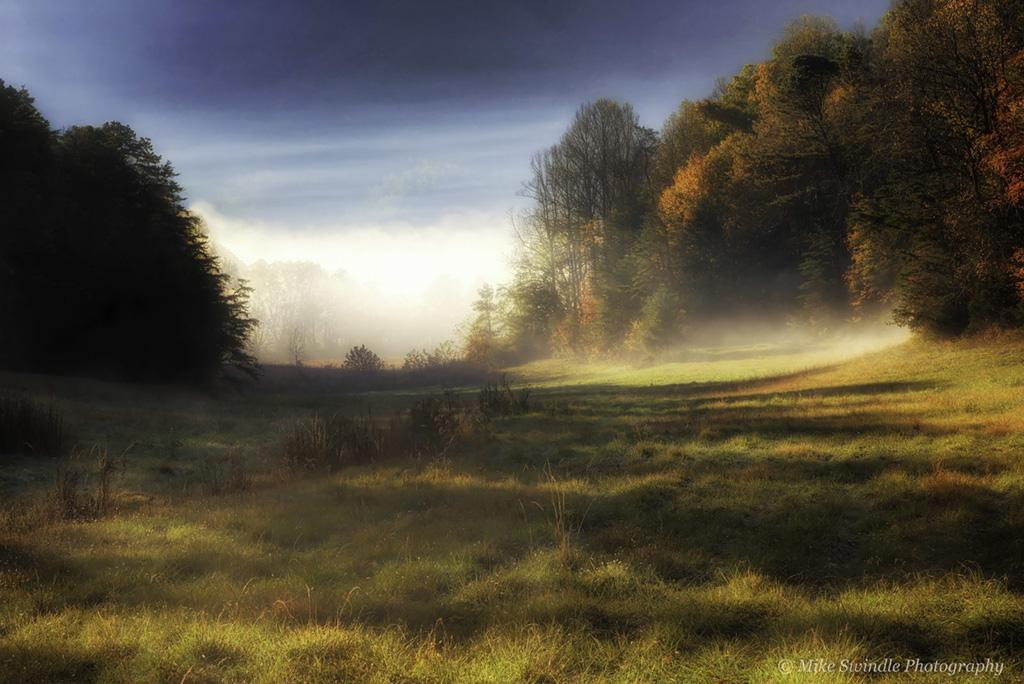 "Congratulations to Mike Swindle for winning the recent Shadows assignment with the image, ""Autumn Fog."""