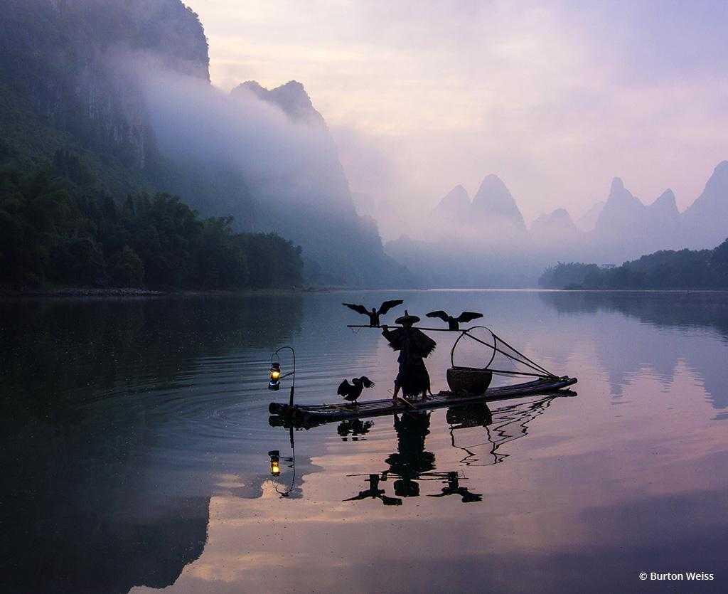 """Today's Photo Of The Day is """"Keeping Traditions Alive"""" by Burton Weiss. Location: Li River, China."""