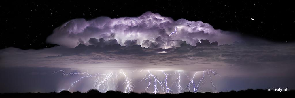 "Today's Photo Of The Day is ""Tempest"" by Craig Bill. Location: Near Kermit, Texas."