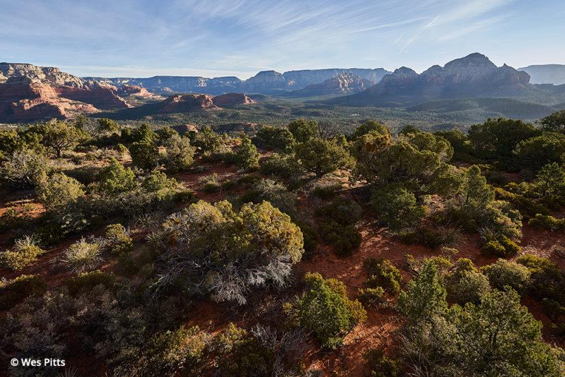 Sony a7R III, Long Canyon from the air, Sedona