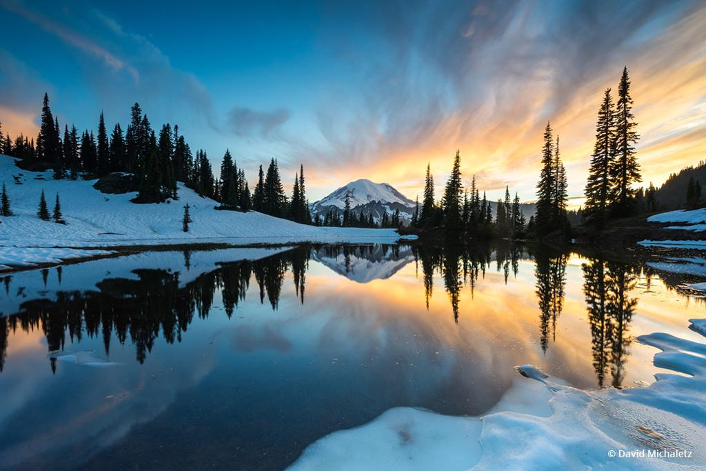 "Today's Photo Of The Day is ""Fire & Ice"" by David Michaletz."