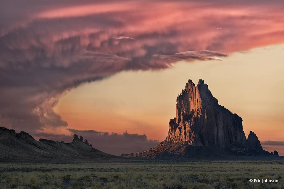 "Today's Photo Of The Day is ""Shiprock"" by Eric Johnson. Location: Shiprock, New Mexico."