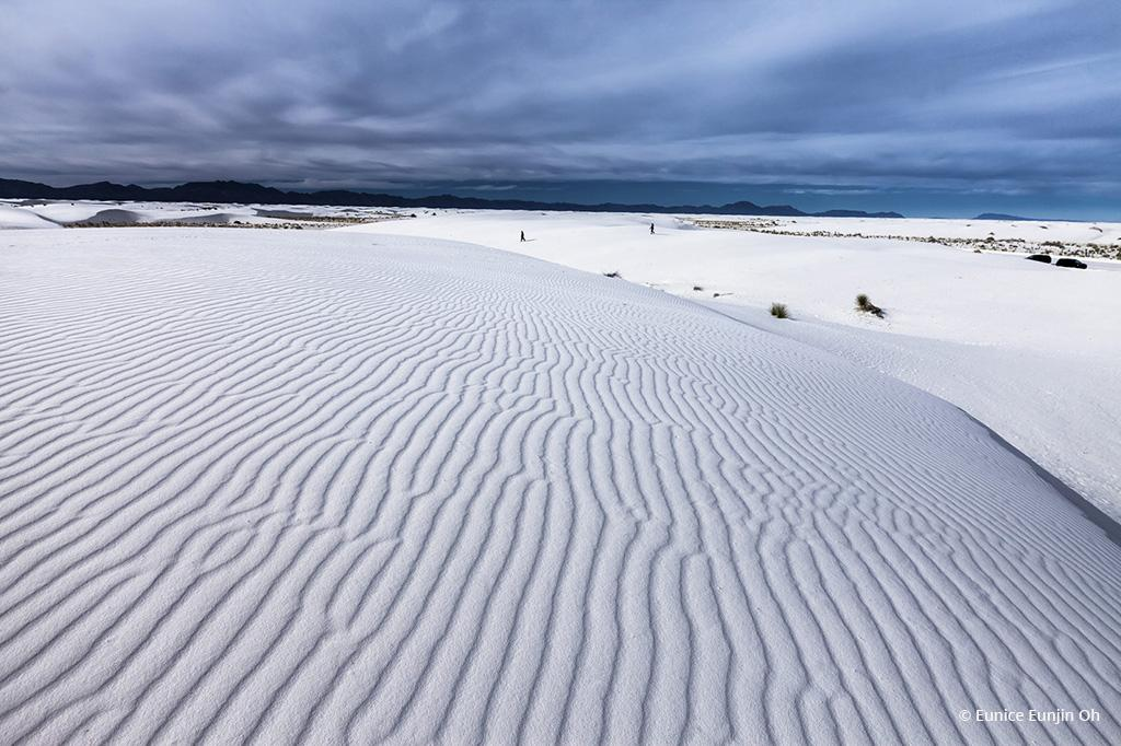 """Today's Photo Of The Day is """"Dreaming of White Sands"""" by Eunice Eunjin Oh. Location: Chihuahuan Desert, New Mexico."""