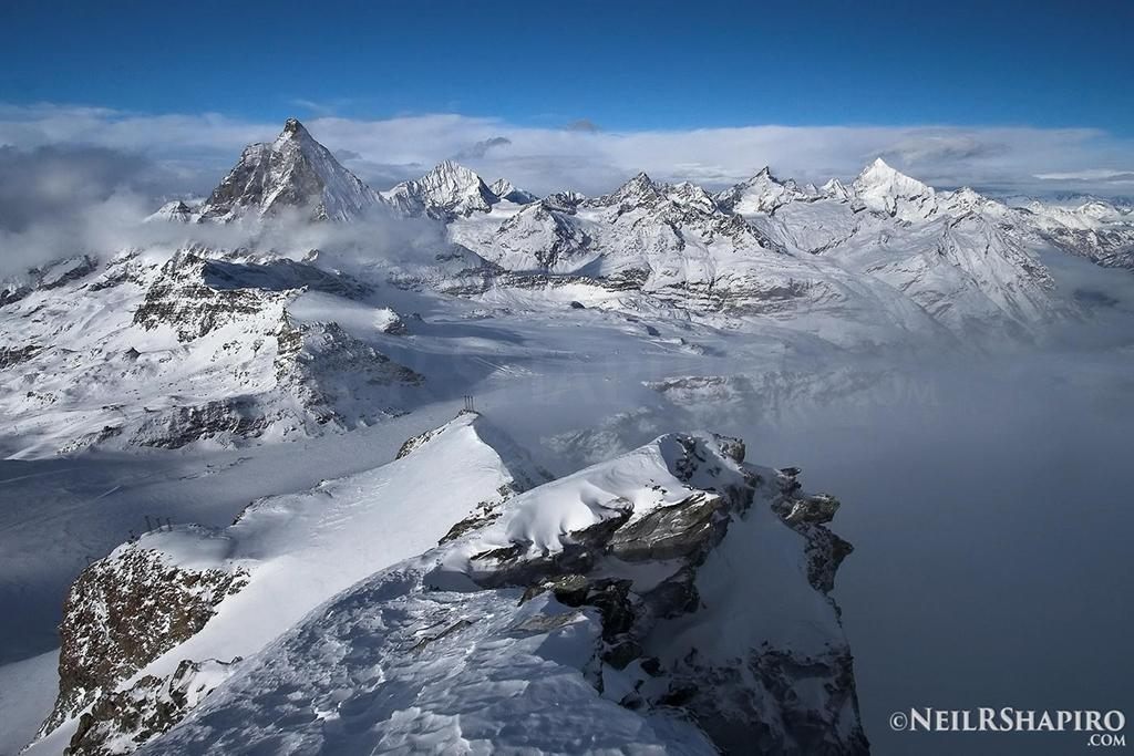 """Today's Photo Of The Day is """"Nature's Pyramids"""" by Neil Shapiro. Location: The Matterhorn in Switzerland."""