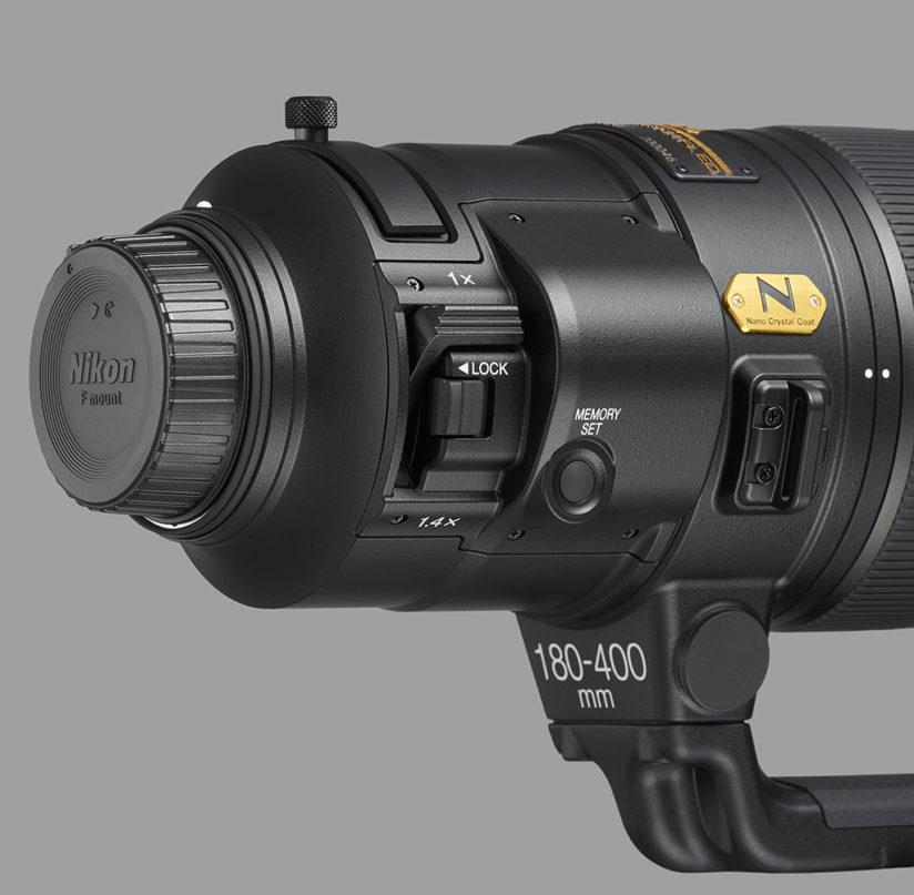 Nikon 180-400mm f/4E TC1.4 FL ED VR close up (right)