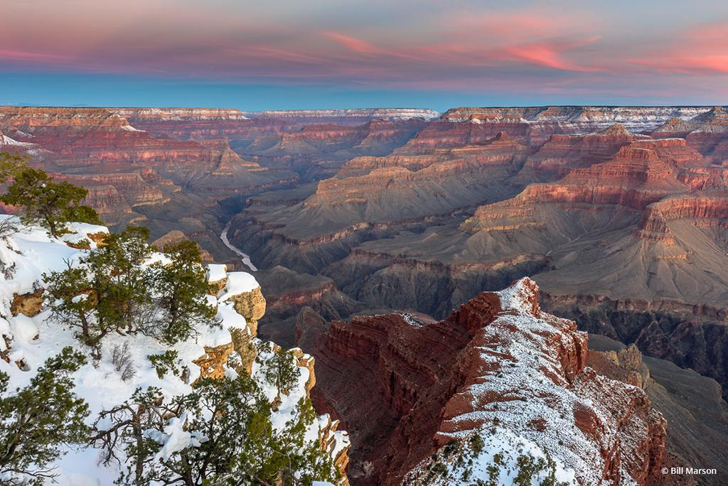 """Today's Photo Of The Day is """"Winter Wonder"""" by Bill Marson. Location: Grand Canyon National Park, Arizona."""