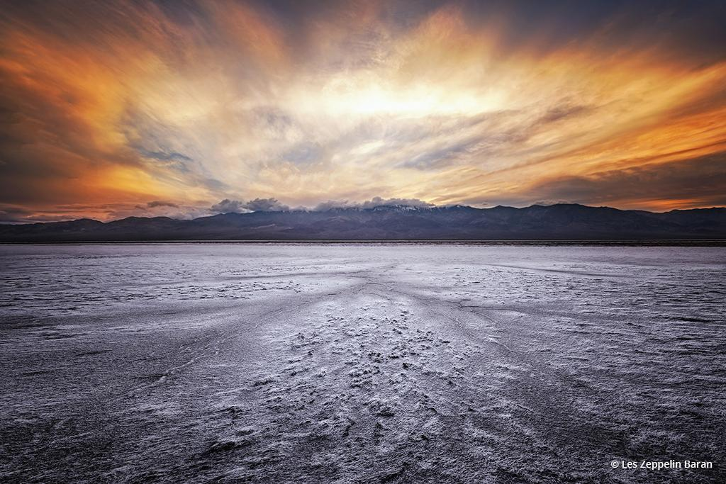 """Today's Photo Of The Day is """"The Salt of the Earth"""" by Les Zeppelin Baran. Location: Death Valley National Park, California."""