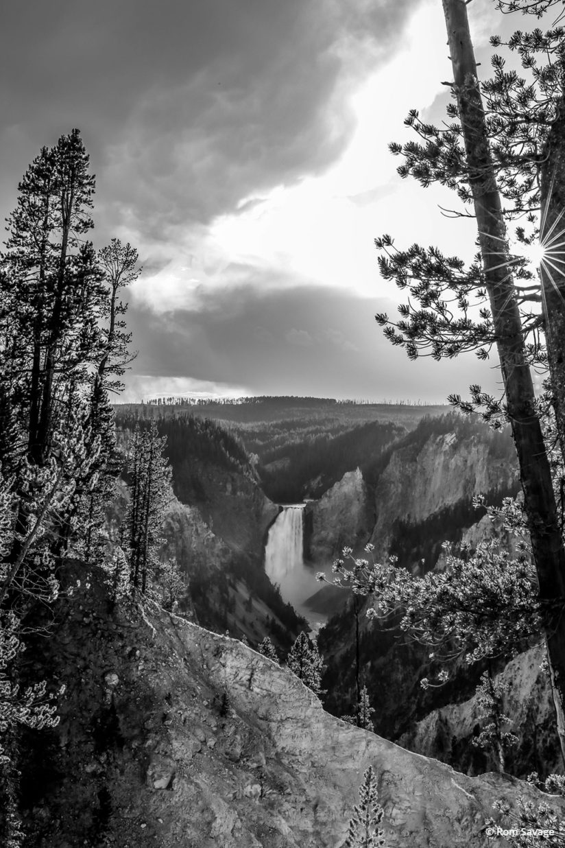 "Today's Photo Of The Day is ""Angel Falls"" by Rom Savage. Location: Yellowstone National Park, Wyoming."
