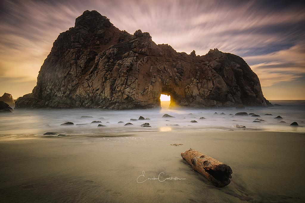 "Today's Photo Of The Day is ""Light the Path"" by Erick Castellon. Location: Pfeiffer Beach Big Sur, California."
