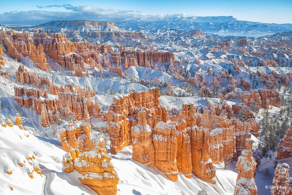 """Today's Photo Of The Day is """"Overtone"""" by Gary Fua. Location: Bryce Canyon National Park, Utah."""