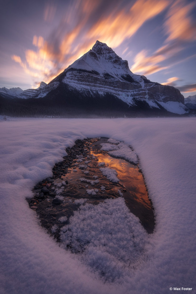 """Today's Photo Of The Day is """"Flaming Peak"""" by Max Foster. Location: Banff, Alberta."""