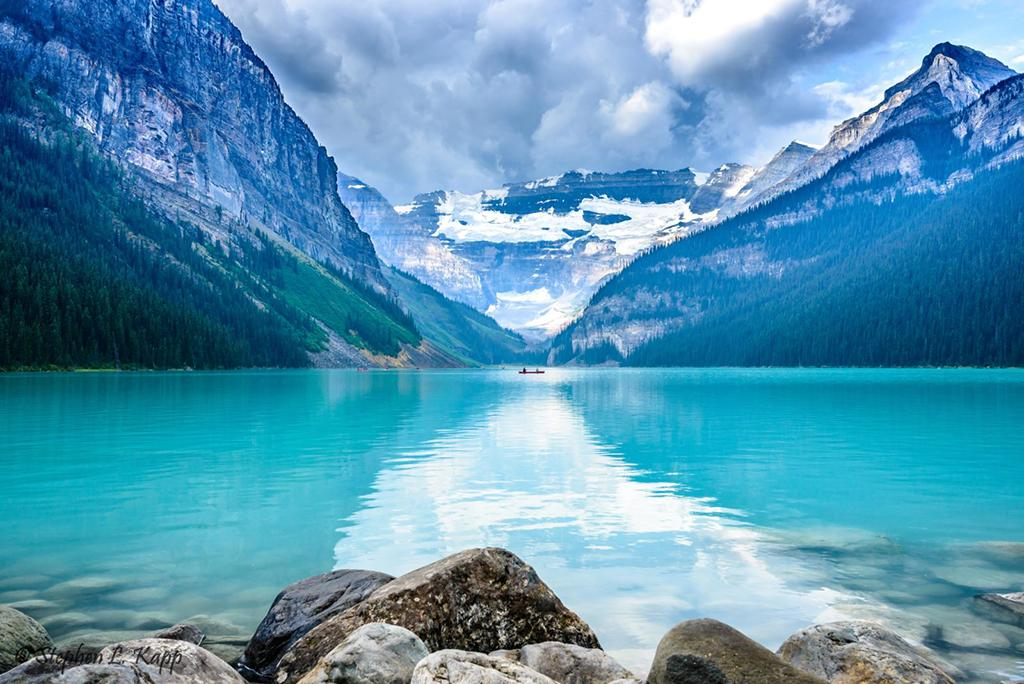 """Today's Photo Of The Day is """"Lake Louise"""" by Stephen Kapp."""