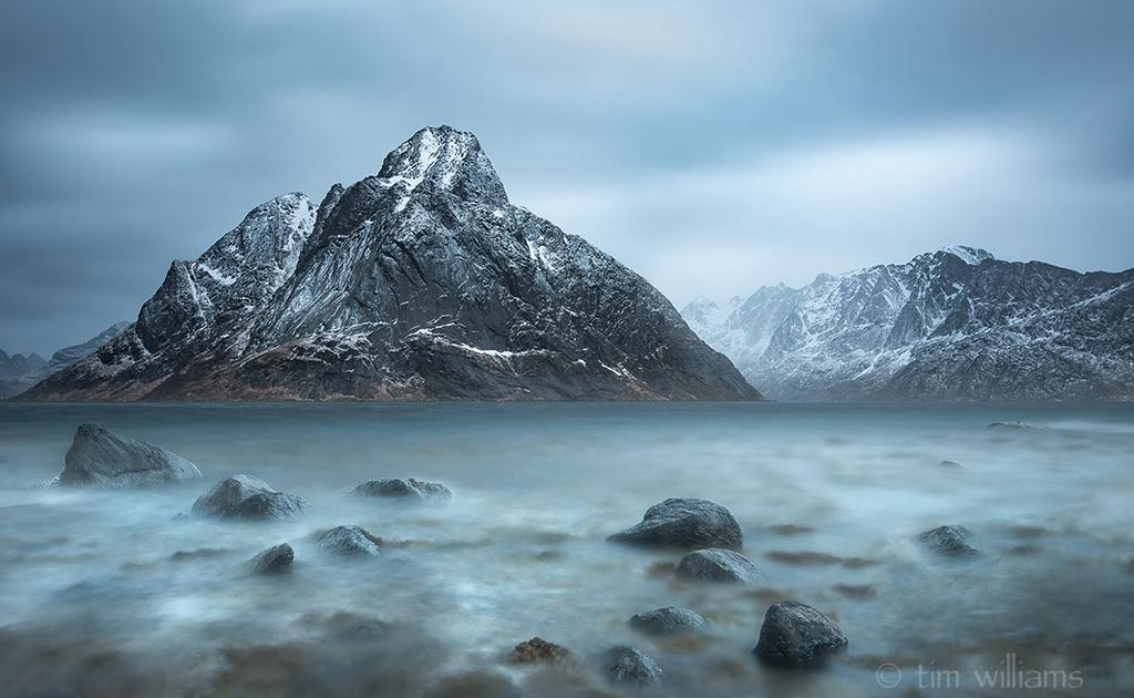 "Today's Photo Of The Day is ""Steely Olstind"" by Tim Williams. Location: Lofoten, Norway."
